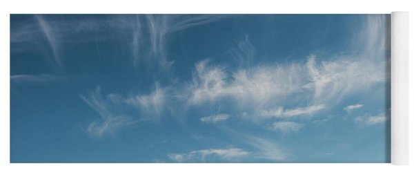 Ghost Clouds Yoga Mat