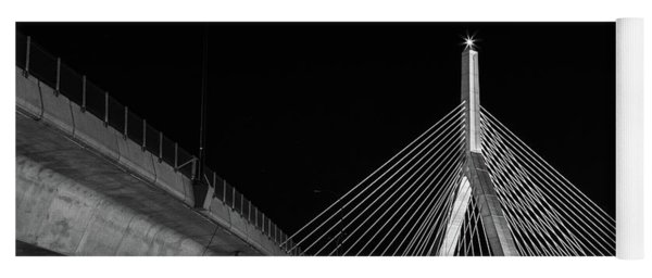 Ghost Rider At Zakim Bridge Yoga Mat