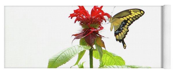Giant Swallowtail Butterfly Yoga Mat