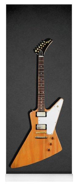 Gibson Explorer 1958 Yoga Mat
