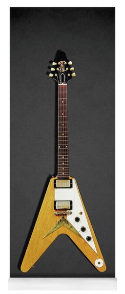 Gibson Flying V Yoga Mat