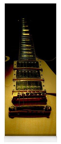 Guitar Triple Pickups Spotlight Series Yoga Mat