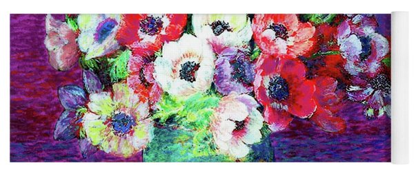 Gift Of Anemones Yoga Mat