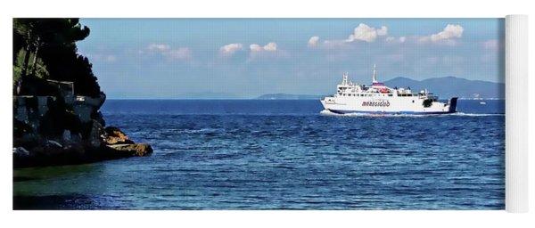 Giglio Island Ferry - Porto Santo Stefano, Italy Yoga Mat
