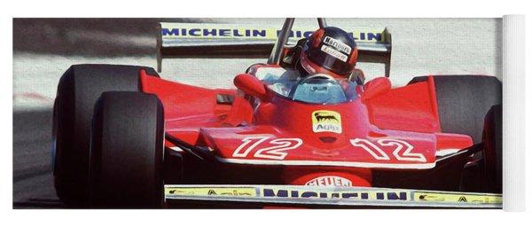 Gilles Villeneuve, Ferrari Legend - 01 Yoga Mat