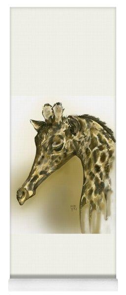 Giraffe Contemplation Yoga Mat