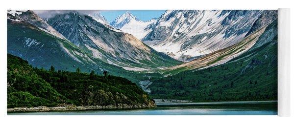 Glacial Valley Yoga Mat