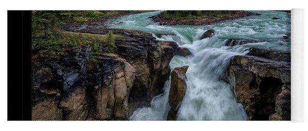 Glacier Falls Yoga Mat