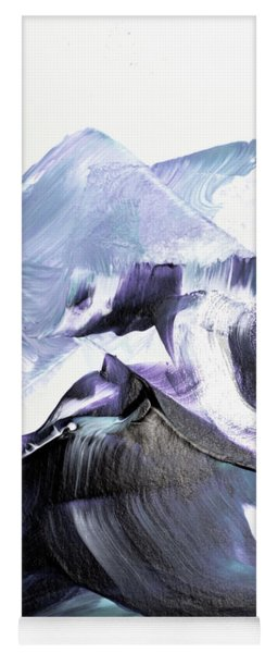 Glacier Mountains Yoga Mat