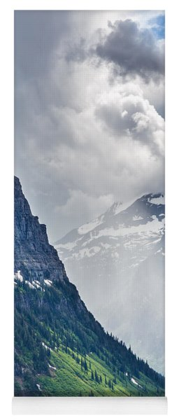 Glacier Storm Yoga Mat