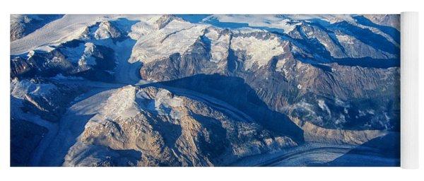 Glaciers In The Coast Range British Columbia Canada Yoga Mat