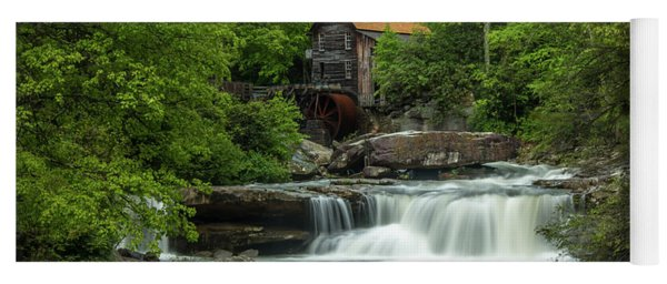 Glade Creek Grist Mill In May Yoga Mat