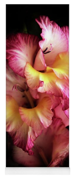 Yoga Mat featuring the photograph Gladiola by Jessica Jenney