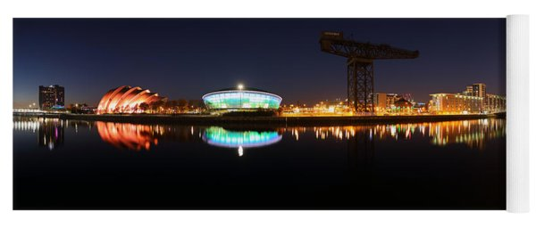 Glasgow Clyde Panorama Yoga Mat