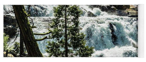 Glen Alpine Falls 1 Yoga Mat