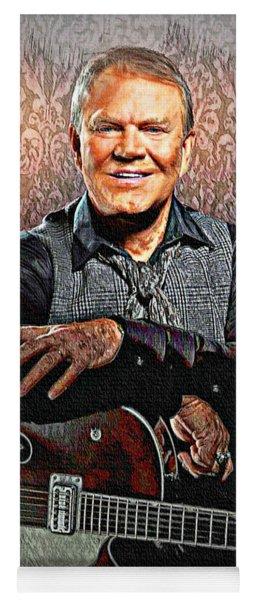 Glen Campbell - Singing Icon Yoga Mat