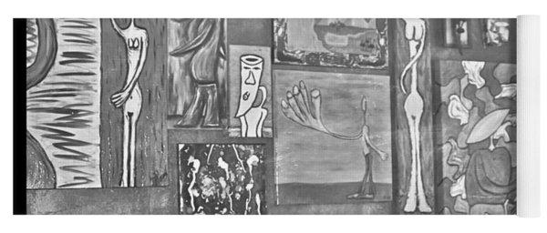 Glimpses Of Where Art Lives 4 Yoga Mat