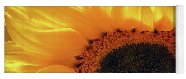 Glorious Sunflower Yoga Mat