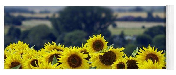 Glorious Sunflowers Yoga Mat