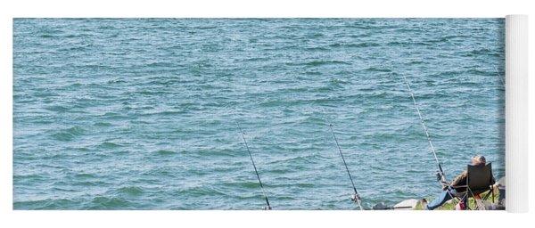 Go Fishing Yoga Mat