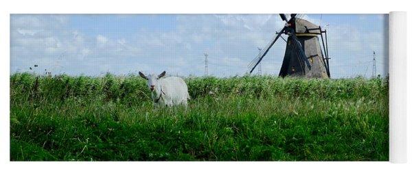 Goat And Windmill Yoga Mat