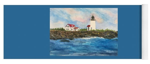 Goat Island Lighthouse  Yoga Mat