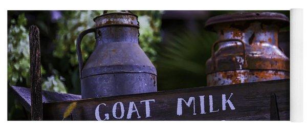 Goat Milk Delivery Yoga Mat