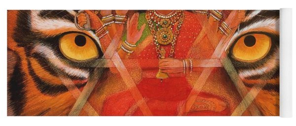 Goddess Durga Yoga Mat