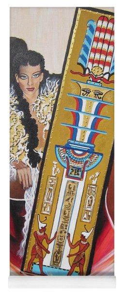 The  Tet Of Osiris Fra Blaa  Kattproduksjoner  Yoga Mat