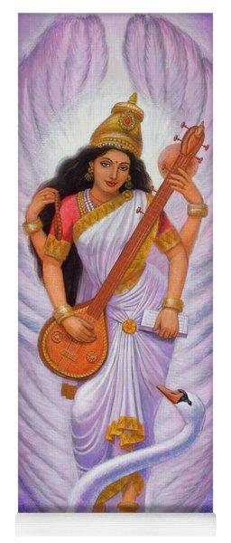 Goddess Saraswati Yoga Mat