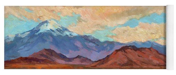 God's Creation Mt. San Gorgonio  Yoga Mat