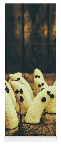 Going Bananas Over Halloween Yoga Mat