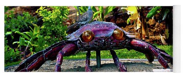 Going Piggyback On A Crab Yoga Mat