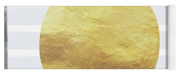 Gold Apple- Art By Linda Woods Yoga Mat