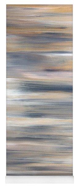 Gold Coast #21 Landscape Original Fine Art Acrylic On Canvas Yoga Mat