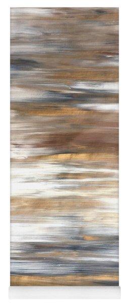 Gold Coast #22 Landscape Original Fine Art Acrylic On Canvas Yoga Mat