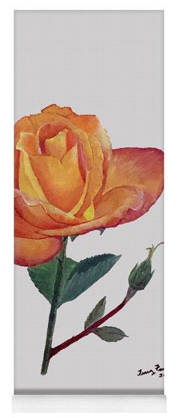 Gold Medal Rose Yoga Mat