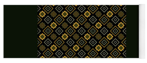 Gold Nights Yoga Mat