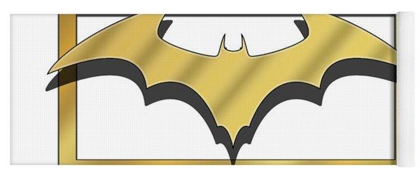 Golden Bat Yoga Mat