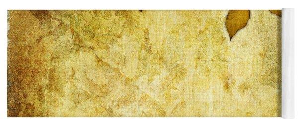 Golden Branch Of Hope  Yoga Mat