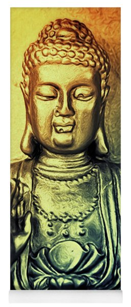 Golden Buddha Yoga Mat