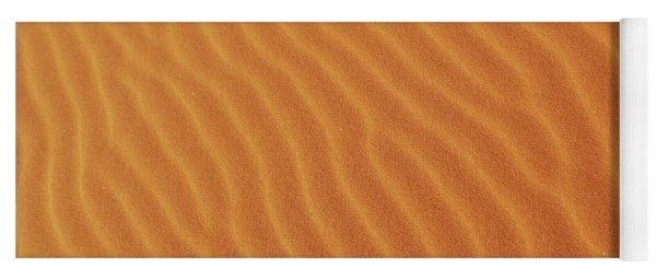 Golden Desert Sands Yoga Mat
