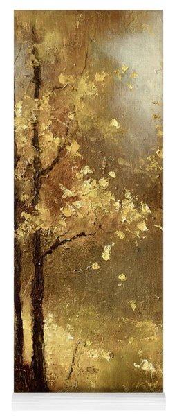 Golden Forest Yoga Mat