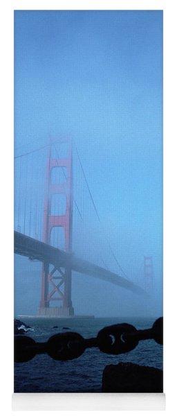Golden Gate Bridge From Fort Point Yoga Mat