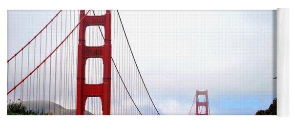 Golden Gate Bridge Full View Yoga Mat