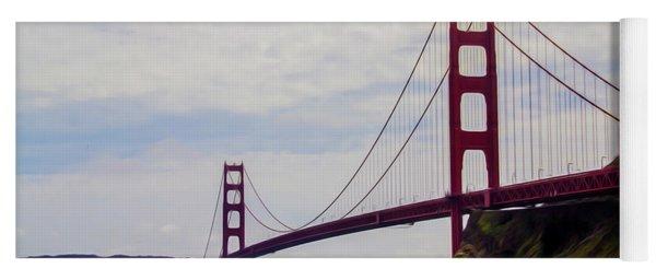 Golden Gate Bridge Yoga Mat