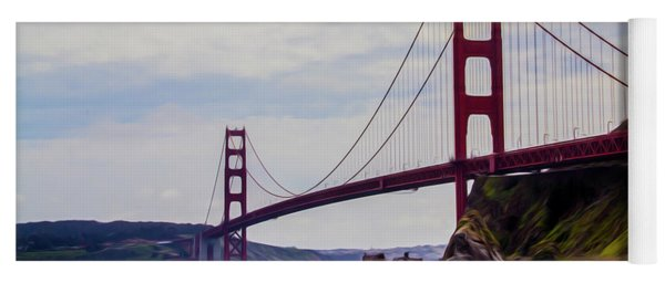 Golden Gate Bridge Yoga Mat