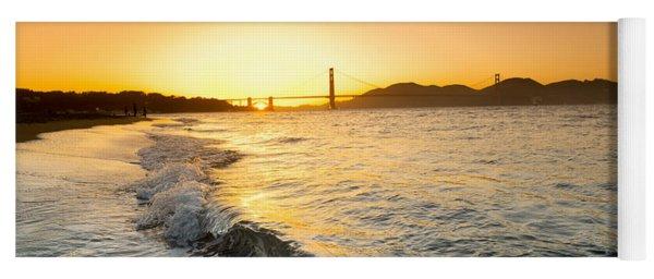 Golden Gate Curl Yoga Mat