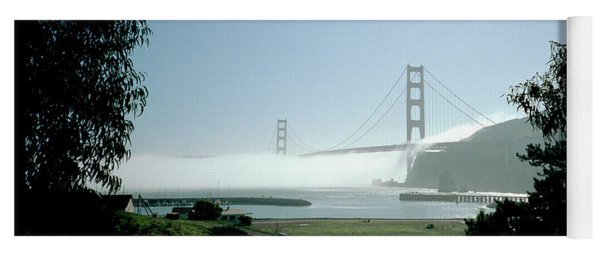 Golden Gate Fog  Yoga Mat