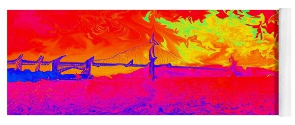 Golden Gate Mod Pop Yoga Mat
